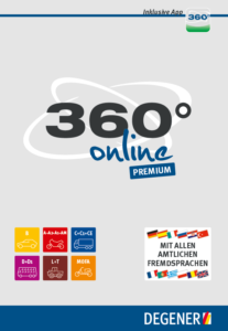 DEGENER CLICK & LEARN 360° online Premium